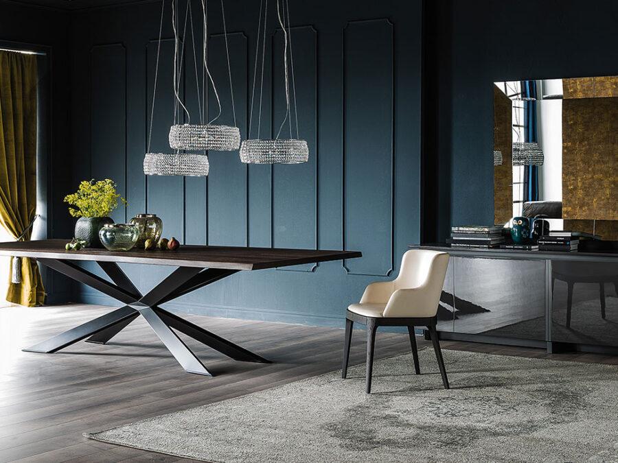 Cattelan Italia – Tisch Spyder Wood