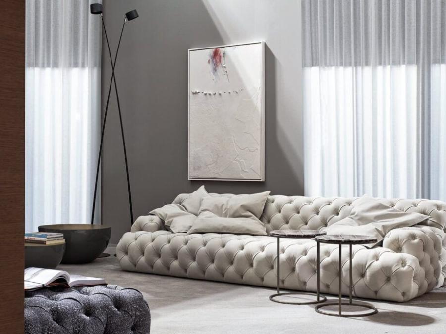 Meridiani – Sofa Norton Capitonne